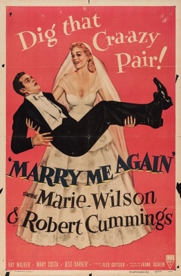 Marry Me Again movie poster (1953) poster MOV_936b2254