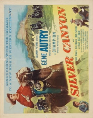 Silver Canyon movie poster (1951) poster MOV_9370bccb