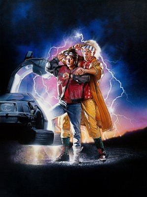 Back to the Future Part II movie poster (1989) poster MOV_938fffd6