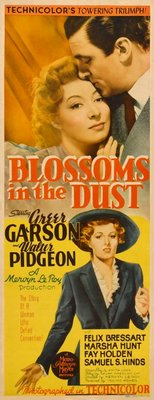 Blossoms in the Dust movie poster (1941) poster MOV_93a00447
