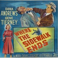 Where the Sidewalk Ends movie poster (1950) picture MOV_93aa60af