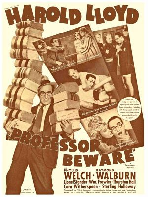 Professor Beware movie poster (1938) poster MOV_93b099cc