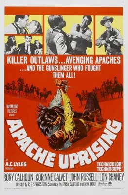 Apache Uprising movie poster (1966) poster MOV_93dca7ab