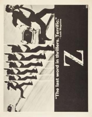 Z movie poster (1969) poster MOV_93de79e4
