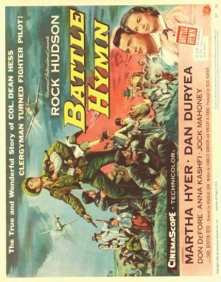 Battle Hymn movie poster (1956) poster MOV_93df7f97