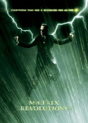 The Matrix Revolutions movie poster (2003) poster MOV_93e18609
