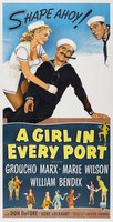 A Girl in Every Port movie poster (1952) picture MOV_93f02076