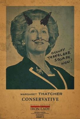 The Iron Lady movie poster (2011) poster MOV_93f5bbe0