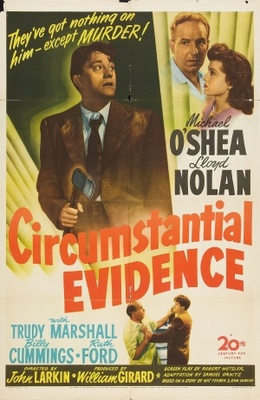 Circumstantial Evidence movie poster (1945) poster MOV_93fd820a