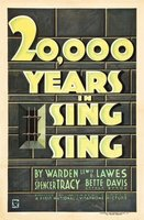 20,000 Years in Sing Sing movie poster (1932) picture MOV_943cb635