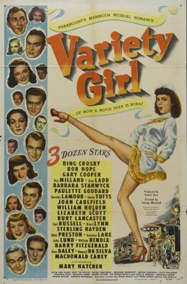 Variety Girl movie poster (1947) poster MOV_944c29df