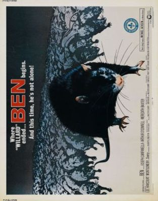 Ben movie poster (1972) poster MOV_944d61bd