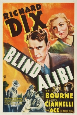 Blind Alibi movie poster (1938) poster MOV_9450a293