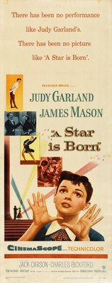 A Star Is Born movie poster (1954) poster MOV_945ac9e4