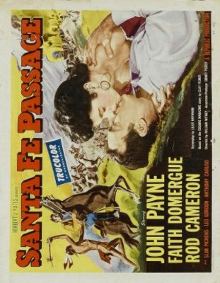 Santa Fe Passage movie poster (1955) poster MOV_947a2a0f