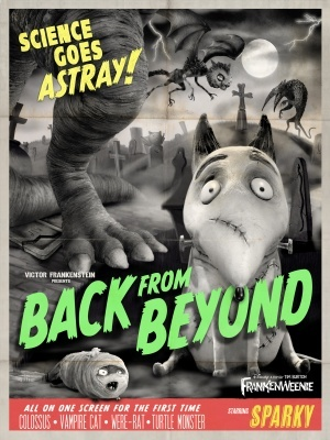 Frankenweenie movie poster (2012) poster MOV_94a69509
