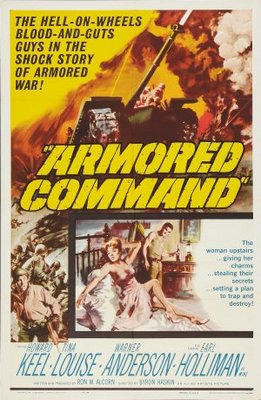 Armored Command movie poster (1961) poster MOV_94bb6a1f