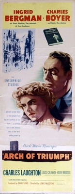 Arch of Triumph movie poster (1948) poster MOV_94d3d0bd