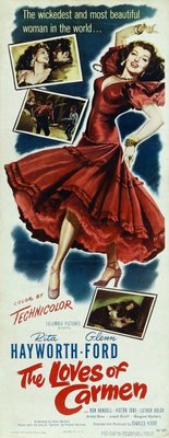 The Loves of Carmen movie poster (1948) poster MOV_950783bc