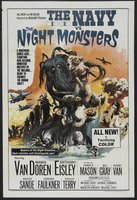 The Navy vs. the Night Monsters movie poster (1966) picture MOV_95125c5a