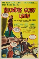 Blondie Goes Latin movie poster (1941) picture MOV_951574f2