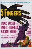 5 Fingers movie poster (1952) picture MOV_95174f6a