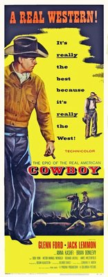 Cowboy movie poster (1958) poster MOV_951cc6b9