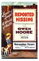 Reported Missing movie poster (1922) picture MOV_9532b84a