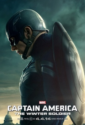 Captain America: The Winter Soldier movie poster (2014) poster MOV_9547fd3a