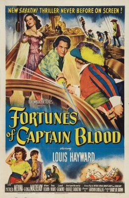 Fortunes of Captain Blood movie poster (1950) poster MOV_954cc2e6