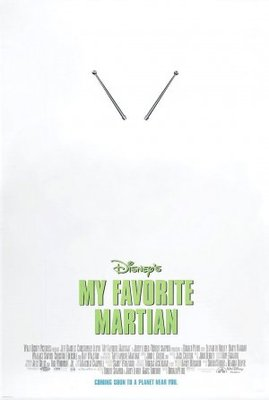 My Favorite Martian movie poster (1999) poster MOV_95528cf7