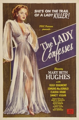 The Lady Confesses movie poster (1945) poster MOV_956edf48