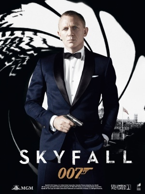 Skyfall movie poster (2012) poster MOV_9582c5e8