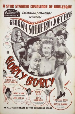 Hurly Burly movie poster (1950) poster MOV_95883428