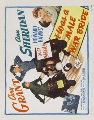 I Was a Male War Bride movie poster (1949) poster MOV_958b75cc
