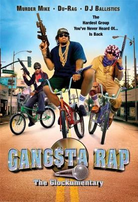Gangsta Rap: The Glockumentary movie poster (2007) poster MOV_95aeed64