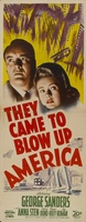 They Came to Blow Up America movie poster (1943) picture MOV_95b5836d