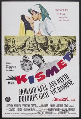 Kismet movie poster (1955) poster MOV_95b5b443