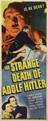 The Strange Death of Adolf Hitler movie poster (1943) poster MOV_95b9b712