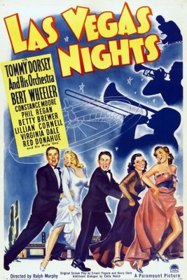 Las Vegas Nights movie poster (1941) poster MOV_95bf8a40