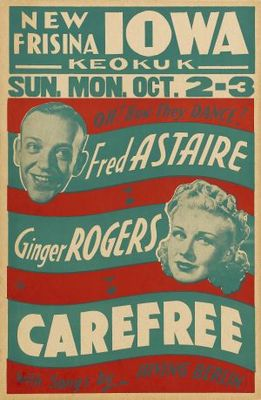 Carefree movie poster (1938) poster MOV_95ce5f02