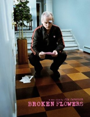 Broken Flowers movie poster (2005) poster MOV_95df1f9f