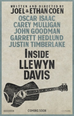 Inside Llewyn Davis movie poster (2013) poster MOV_95e32474