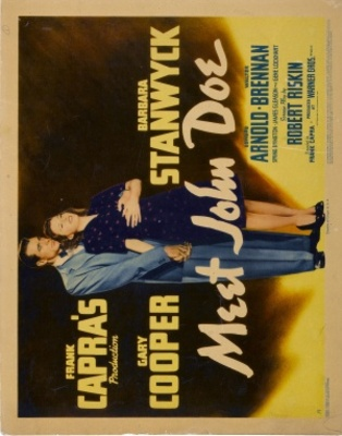 Meet John Doe movie poster (1941) poster MOV_95e741fa