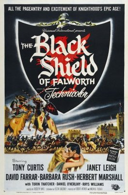 The Black Shield of Falworth movie poster (1954) poster MOV_95f1be06