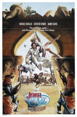 The Jewel of the Nile movie poster (1985) poster MOV_95f8c7b9