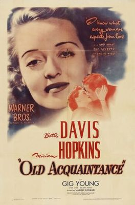 Old Acquaintance movie poster (1943) poster MOV_960c994a