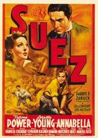 Suez movie poster (1938) picture MOV_9614cdaa