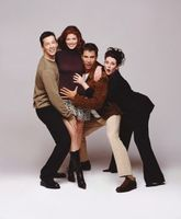 Will & Grace movie poster (1998) picture MOV_961785b7