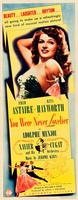 You Were Never Lovelier movie poster (1942) picture MOV_96208b31